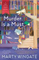 Cover image for Murder is a must