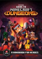 Cover image for Guide to Minecraft dungeons : a handbook for heroes