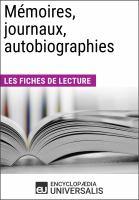 Imagen de portada para Mémoires, journaux, autobiographies les dossiers.