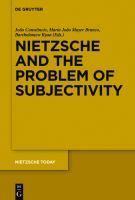Cover image for Nietzsche and the problem of subjectivity