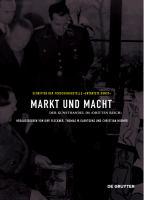 Cover image for Markt und Macht Der Kunsthandel im Dritten Reich