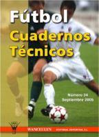 Cover image for Fútbol  cuadernos técnicos