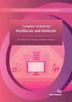 Cover image for Computer systems for healthcare and medicine