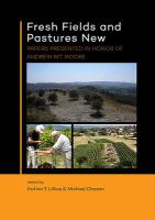 Cover image for Fresh fields and pastures new  papers presented in honor of Andrew M.T. Moore