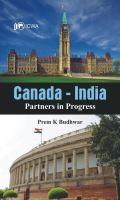 Cover image for Canada-India   partners in progress