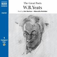 Cover image for The great poets. W. B. Yeats