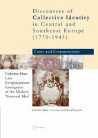 Cover image for Late enlightenment emergence of the modern 'national idea'