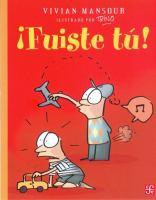 Cover image for ¡Fuiste t{acute}u!