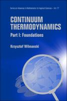 Cover image for Continuum thermodynamics