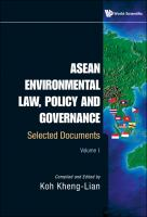 Cover image for ASEAN environmental law, policy, and governance selected documents