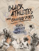 Cover image for Black athletes who changed sports