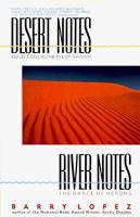 Imagen de portada para Desert notes : reflections in the eye of a raven ; River notes : the dance of herons