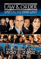Cover image for Law & order, Special Victims Unit The third year, 2001-2002 season