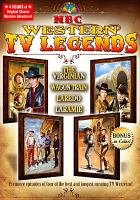 Cover image for NBC Western TV legends.