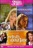 Cover image for 3 Classic women's movies Change of heart; Her desperate choice ; The truth about Jane