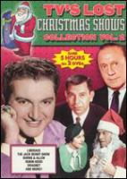 Imagen de portada para TV'S lost Christmas shows collection. Vol. 2