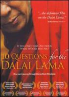 Cover image for 10 questions for the Dalai Lama