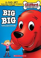 Cover image for Clifford the big red dog Big big collection /cScholastic Entertainment, Inc.
