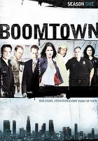 Cover image for Boomtown. Season one