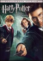 Cover image for Harry Potter and the Order of the Phoenix