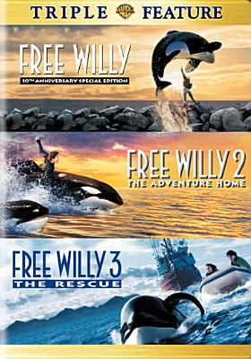 Cover image for Free Willy Triple feature