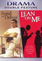 Imagen de portada para Stand and deliver Lean on me