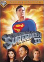 Cover image for Superman IV the quest for peace