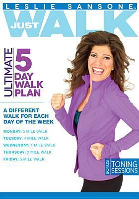 Cover image for Leslie Sansone just walk ultimate 5 day walk plan.