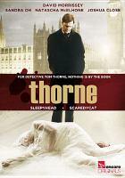 Cover image for Thorne. Sleepyhead. Scaredycat