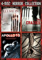 Cover image for 4-disc horror collection Let me in. The crazies. Apollo 18. Pandorum.