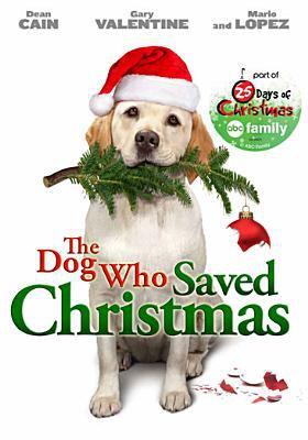 Cover image for The dog who saved Christmas