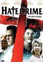 Imagen de portada para Hate crime