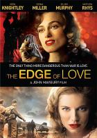 Cover image for The edge of love