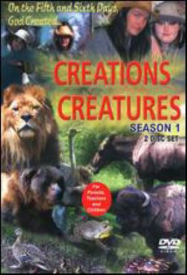 Cover image for Creation's creatures. Season 1