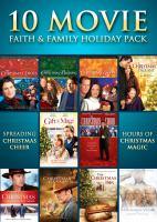 Imagen de portada para 10 movie faith & family holiday pack