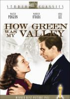 Cover image for How green was my valley