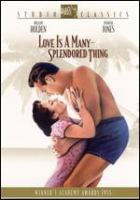 Cover image for Love is a many-splendored thing