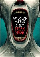 Cover image for American horror story Freak show : The complete fourth season