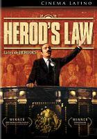 Cover image for La ley de Herodes