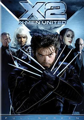 Cover image for X2 X-men united