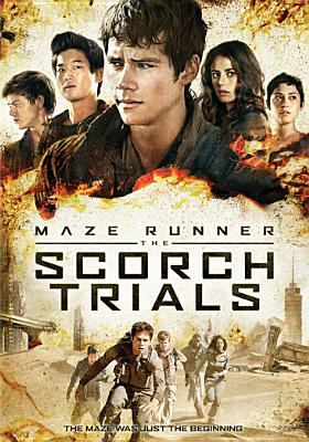 Cover image for Maze runner The Scorch trials