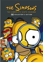 Cover image for The Simpsons The complete sixth season
