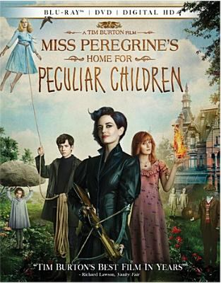Cover image for Miss Peregrine's Home for Peculiar Children