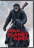 Cover image for War for the planet of the apes