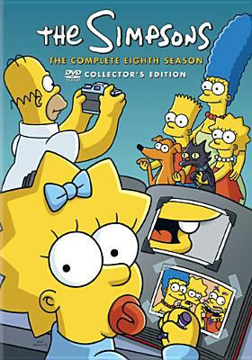 Cover image for The Simpsons The complete eighth season