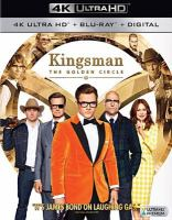 Cover image for Kingsman. The golden circle