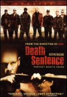 Cover image for Death sentence