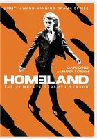Cover image for Homeland The complete seventh season.