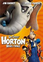 Cover image for Dr. Seuss' Horton hears a Who!