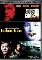 Cover image for The Boston strangler the silence of the lambs - The vanishing.